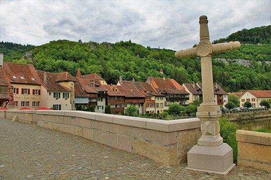 Canton of Jura, سويسرا: La splendida cittadina medioevale di Saint -  Ursanne.