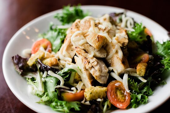 House Salad with Chicken $10