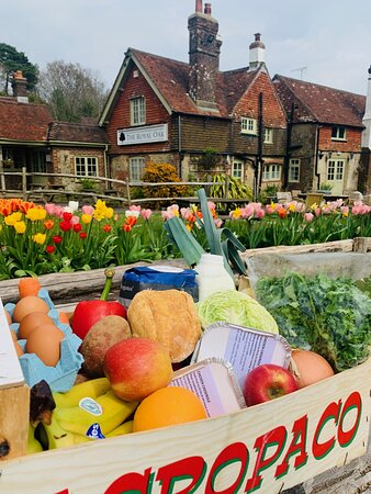 Fruit and veg boxes for lockdown