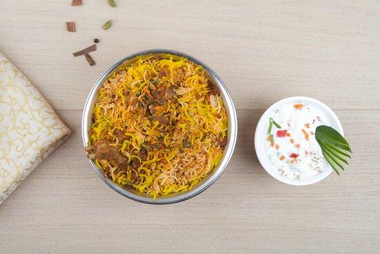 Hyderabad Mutton Biryani