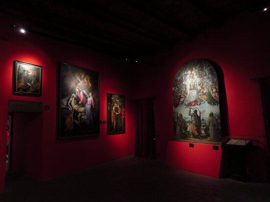 la pinacoteca (sala 16)