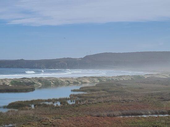Laguna Conchalí y playa amarilla en Los Vilos
