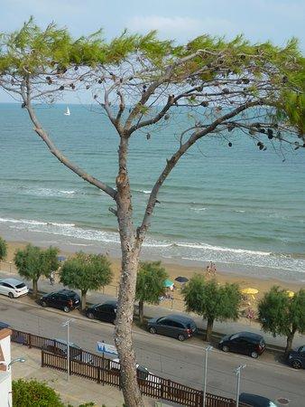 colazione all'aperto cullati dalle onde e da una magnifica vista sul mare.