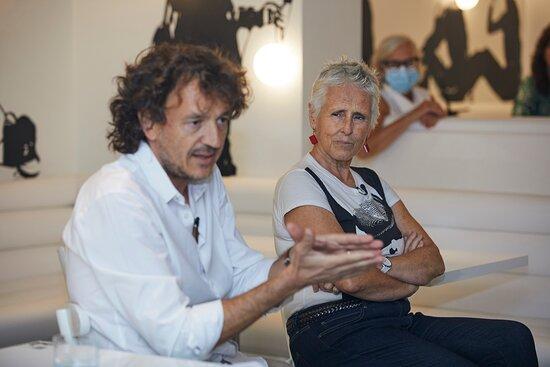 50 Aniversario del Flash Flash Barcelona  mercedes Milá e Iván Pomés