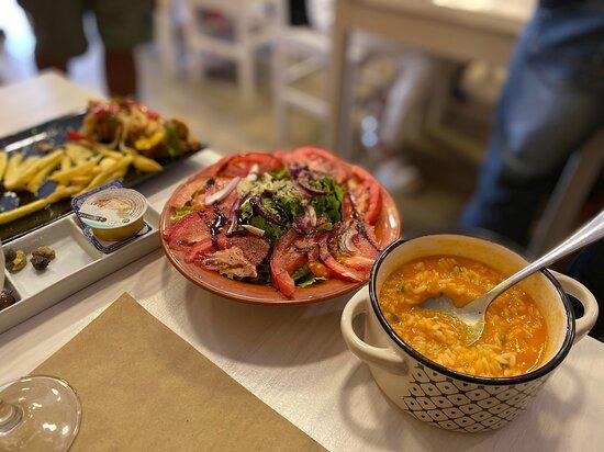 Arroz de Marisco (rice & seafood)