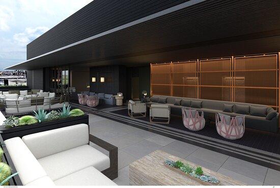 Nobu Restaurant Chicago Rooftop Bar