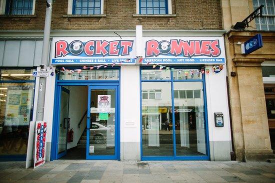 Rocket Ronnies Pool Hall