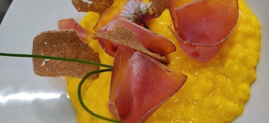 Obergesteln, Schweiz: Restaurant Source du Rhone