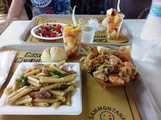 Uno dei pranzi