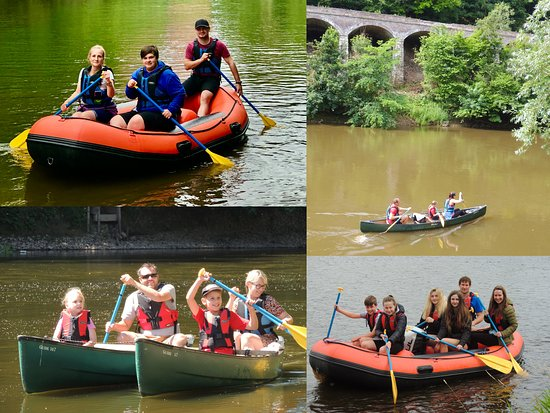 Ironbridge, UK: Lots to do at Shropshire Raft Tours!