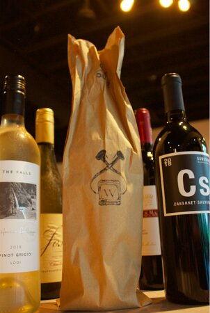 Our curbside to-go offerings include the Grab Bag wine special. Chose red or white and we'll toss in one of our favorites for you.