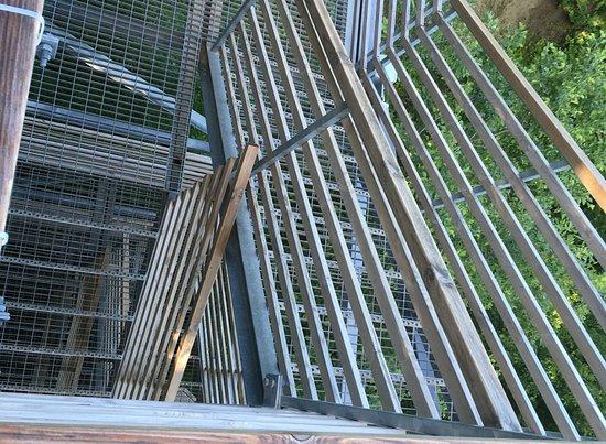 Valaste, Estland: Stairs