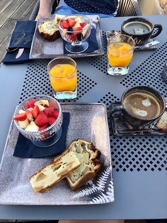 Très bon petit déjeuner