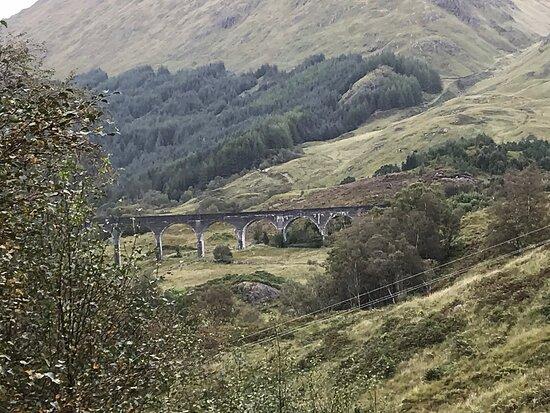 Bridge where Jacobite Train crosses