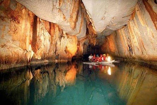 Visite de la rivière souterraine depuis la région de Sabang avec...