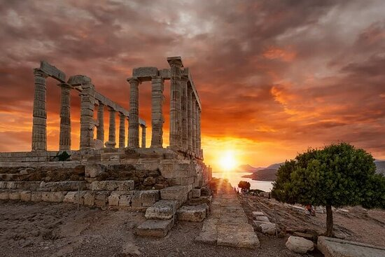 Sunset Sounio Half Day 5 Hours Open...