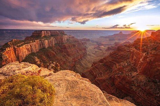 Private Grand Canyon South Rim: Sunset Tour from Las Vegas