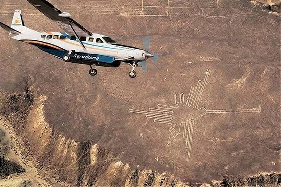 Nazca Lines and Huacachina Oasis from...