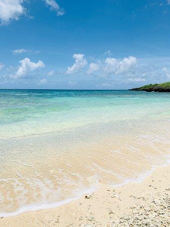砂浜がきれい。