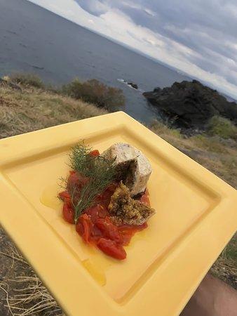 Pranzo con la vista del mare