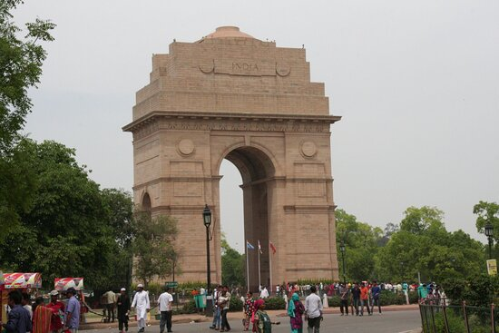 Nova Deli, Índia: Nuova Delhi: India gate