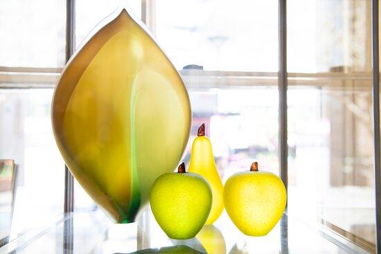 Blown glass, sydney artist