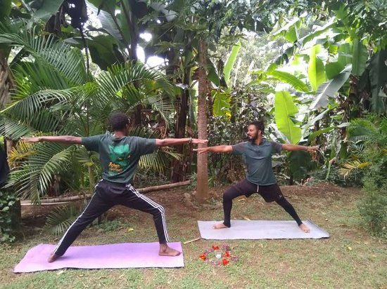 Yoga session with moivaro cultural tourism