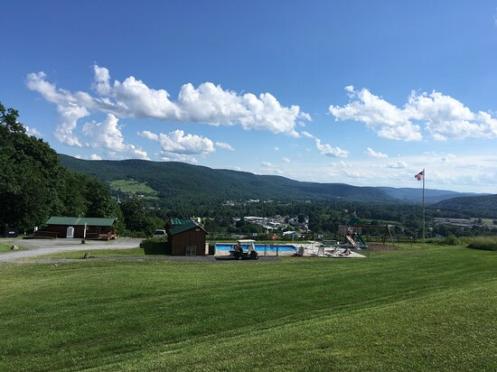 Deer Haven Campground & Cabins: View