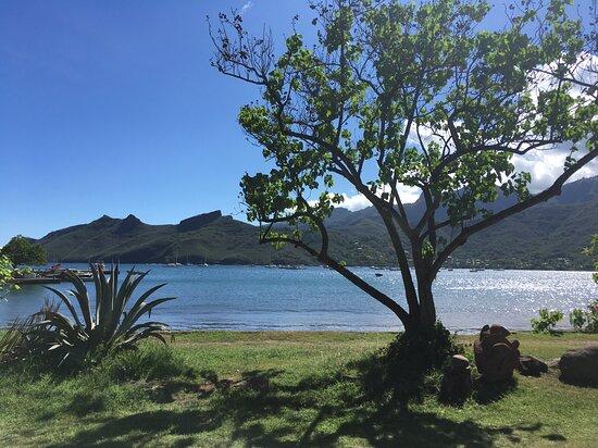 Taiohae, Fransız Polinezyası: la baie
