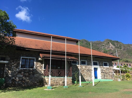 Taiohae, بولينيزيا الفرنسية: Taiohae : la prison