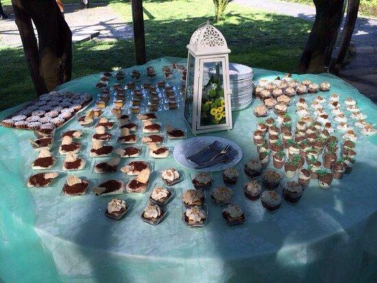 Nuestras mesas de dulce