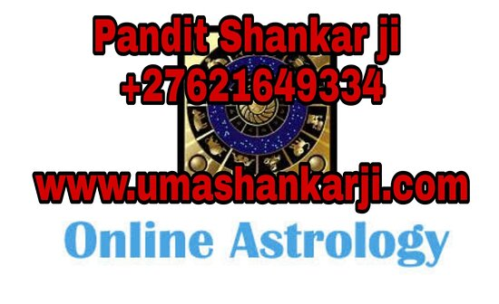 Güney Afrika: Lets Talk About Pandit Shankar Ji   Pandit Shankar ji is a well renowned Indian based astrologer in Durban Johannesburg Cape town South Africa , who is known for making 100% accurate predictions based on the real life problems, such as love marriage, financial problems, relationship issues, business and career related problems.  He holds years of experience and has obtained specialization in offering a wide range of astrology, vashikaran services that are not only powerful, but also deliver posi