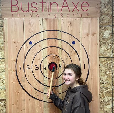 BustinAxe Throwing Range