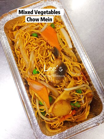 Mixed Vegetables Chow Mein