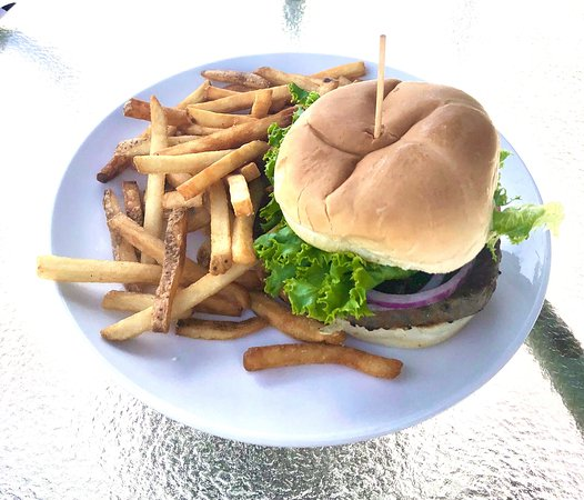 Browning Burger With Fries