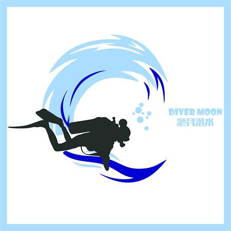 Diver Moon