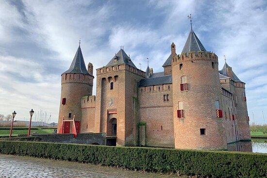 Ventes de fleurs et château d'Amsterdam...