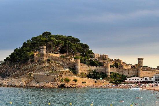 Privat Costa Brava og Tossa Tour med hotellhenting og panoramabåttur