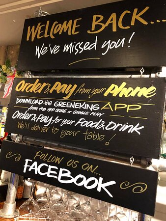 Welcome back to the Lansdown! Download our app to save queueing at the bar