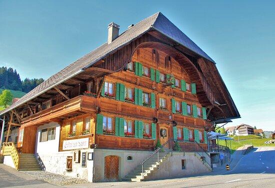 Il nostro albergo a Schangnau.