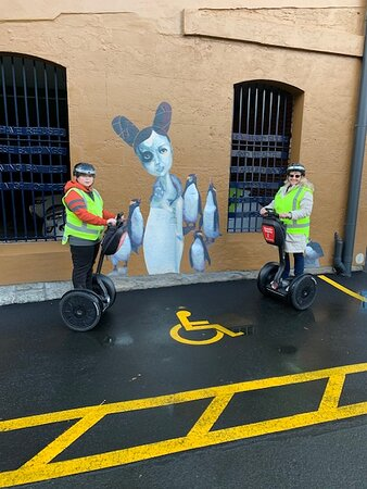 1-Hour Segway Taster Experience: Some of the street art we seen on the tour