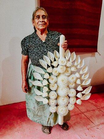 אואחאקה, מקסיקו: Handmade wax candles.