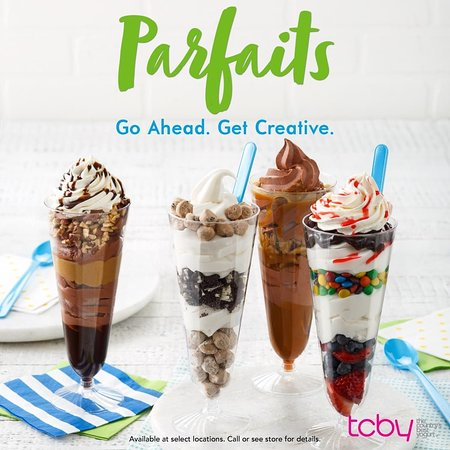 Delicious layers of froyo and toppings.. your choice!