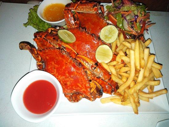 grill crab