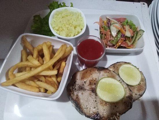 grill seel fish