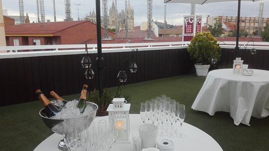 terraza coctel