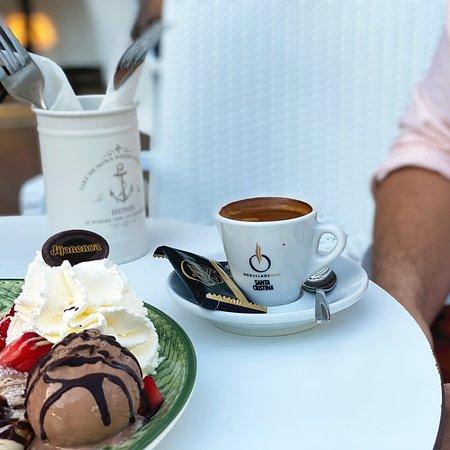 Café + helado