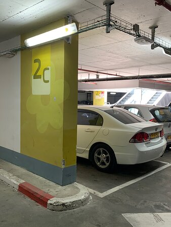Be sure to remember where you parked your car- that's what we'd did.