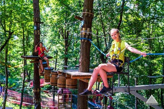 Trollandia Park Linowy Góra Żar