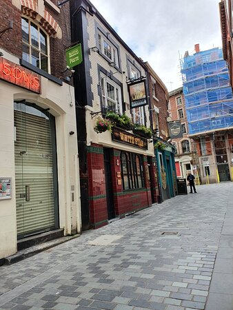 The White Star Pub just off Matthew Street